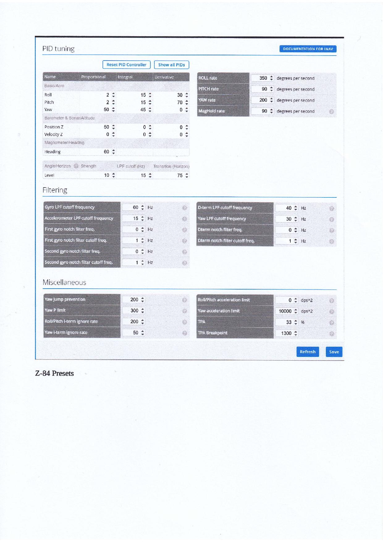 Zeta Wing Wing Z-84 mit F3 und INAV - Ein Baubericht - Seite