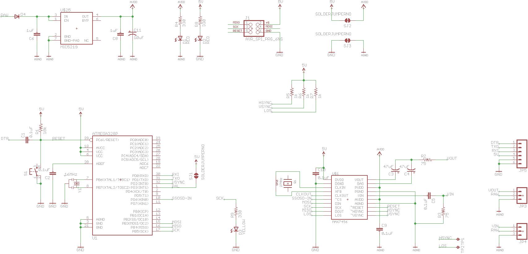 layout    circuit minimosd